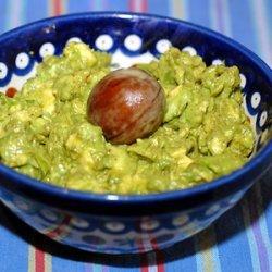 Nick's tropical avocado & lime dip/spread
