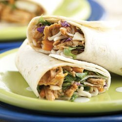 Asian Chicken Wraps recipe