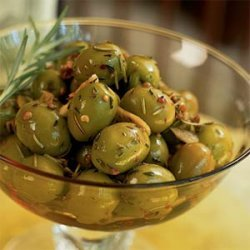Marinated Spanish Olives recipe