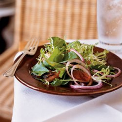 Watercress, Frisee, and Grapefruit Salad with Curry Vinaigrette
