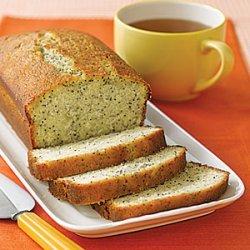 Lemon Poppy-Seed Tea Bread
