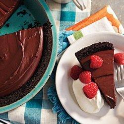 Rich Chocolate Pudding Pie