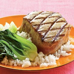 Double-Sesame Grilled Tuna recipe