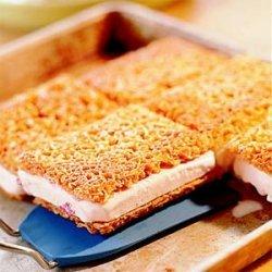Crunchy Ice Cream-Cookie Sandwiches