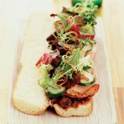 Hoi An-style Oven-crisped Pork Sandwich (Banh Mi Thit Hoi An) recipe