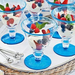 Citrus-Berry Parfait recipe