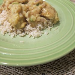 Chicken with Coconut Curry Sauce