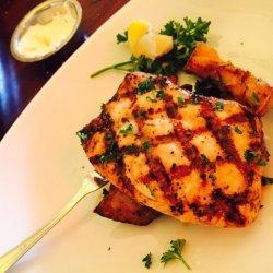 Swordfish with Herb Sauce