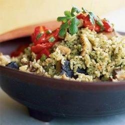 Cilantro Rice with Chicken recipe