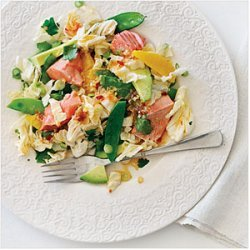 Salmon Sesame Salad recipe