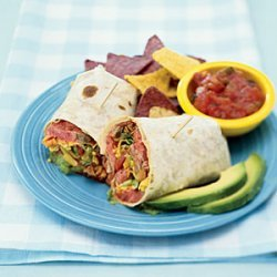Chili-Rubbed Flank Steak Wraps recipe