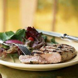 Fennel-Brined Pork Chops