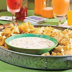 Spicy White Cheese Dip recipe