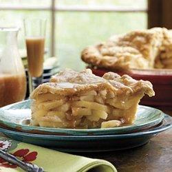 Double Apple Pie With Cornmeal Crust recipe