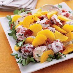 Golden Beet and Potato Salad