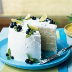 Fresh Lime Chiffon Cake recipe