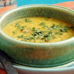 Lentil Dal with Garlic-and-Cumin-Infused Oil recipe