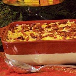 Ham-and-Hash Brown Breakfast Casserole