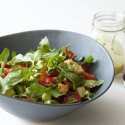 Cherry Tomato Salad with Walnut-Tarragon Dressing