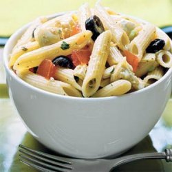 Penne With Greek-Style Tomato Sauce