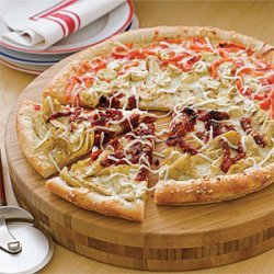 Four Seasons Veggie Pizza recipe