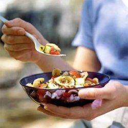 Summer Garden Lentil and Pasta Salad