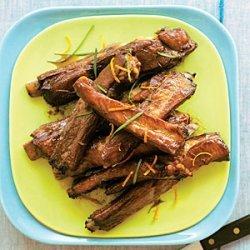 Roasted Pork Spareribs with Citrus-Soy Sauce