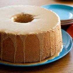 Coffee Angel Food Cake