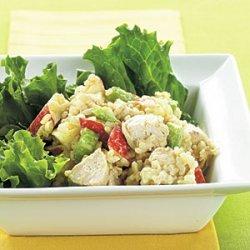 Curried Chicken-Rice Salad recipe