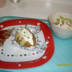 Teresa's Stuffed Baked Potatoes recipe