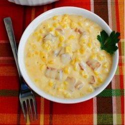Cheesy Corn & Bacon Bake recipe