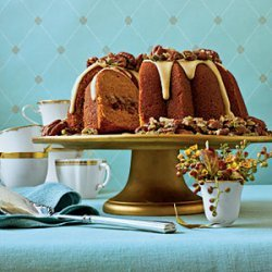 Cranberry-Apple-Pumpkin Bundt recipe