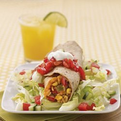 Refried Beans and Rice Burritos recipe
