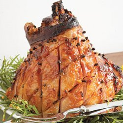 Dijon-Marmalade-Glazed Baked Ham