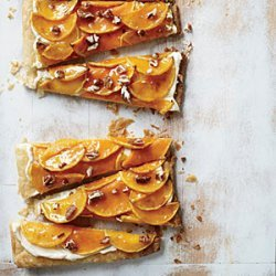 Butternut Squash Glazed Tart recipe