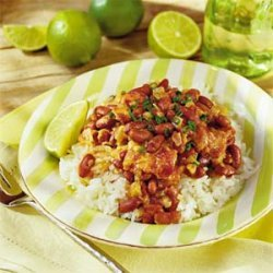 Spicy Beans with Coconut Milk
