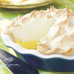 Mile-High Lemon Meringue Pie