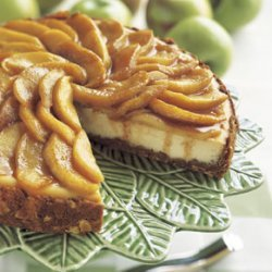 Apple-Almond Cheesecake recipe