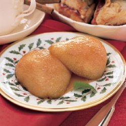 Butterscotch Baked Pears recipe