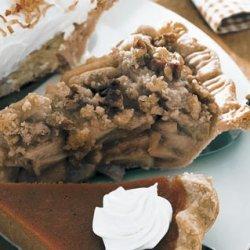 Apple Crumb Pie