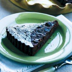 Chocolate-Cherry Tart