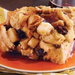 Apple-Raisin Bread Pudding recipe