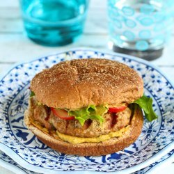 Curried Turkey Burgers