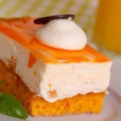 Mango-Orange Mousse Cake