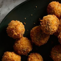 Ricotta and Sage Fried Meatballs