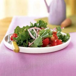 Simple Green Salad with Vinaigrette