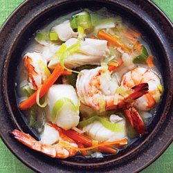 Miso Seafood Stew recipe