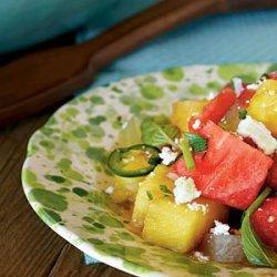 Southwest Watermelon Salad