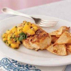 Jamaican Chicken with Mango Salsa