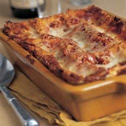 Tomato-Basil Lasagna with Prosciutto